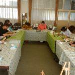 遠里小野小学校生涯学習ルームにてチョークアート体験レッスンをしました☆