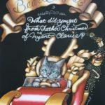 ネコサンタの宅急便☆クリスマスのチョークアート完成しました♪