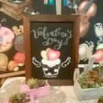 チョークアートでバレンタイン♡ワークショップ♪リポート☆